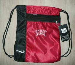 NIKE Golf UNLV College Red Large Drawstring Backpack Bag Nyl