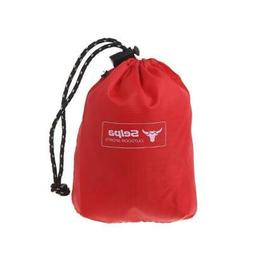 Waterproof Nylon Drawstring Storage Bag Outdoor Shopping Tra