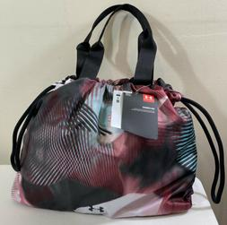 Women's Under Armour Cinch Printed Tote Bag Gym Fitness 13